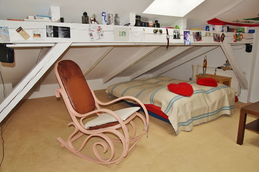 bedroom II (can be turned in 2 double beds)
