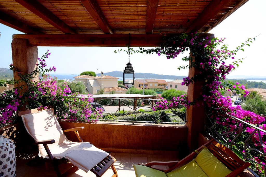 Relax on your private Veranda!