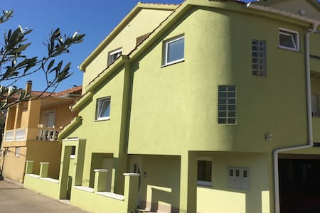 Apartman Green apple with balcony and free parking