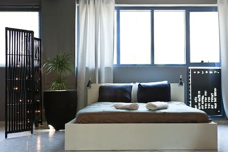 Zen Loft in downtown-Gazi - Athina