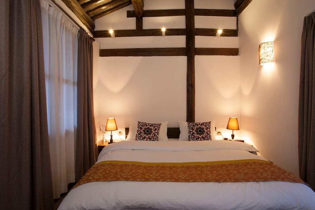 传统木结构房间