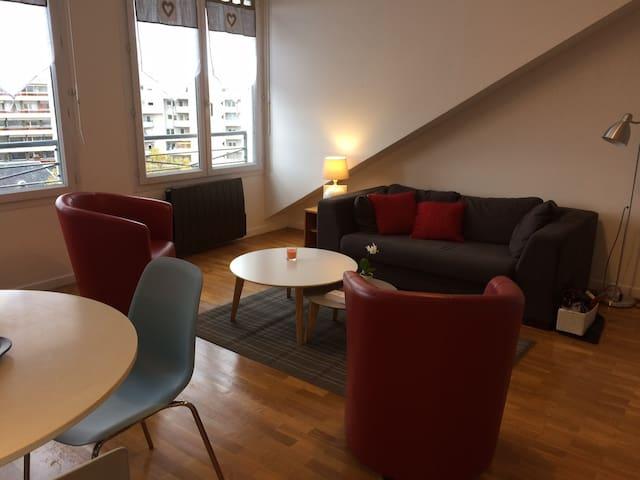 Appartement studio, centre de Villeurbanne - Villeurbanne - Lägenhet