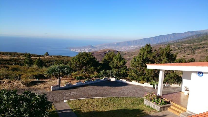 Chalet en Montaña. Vistas al Mar - Santa Cruz de Tenerife - Casa