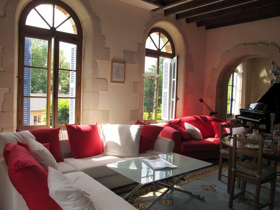 Chambre romantique maison de charme chambres d 39 h tes for Chambre d hote chateau de la loire