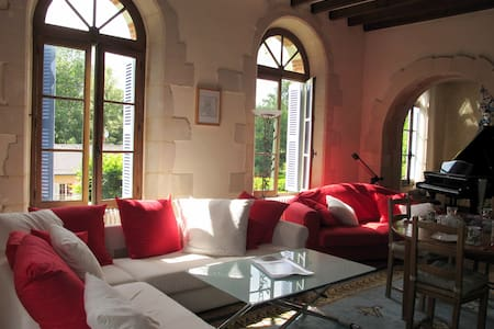 Romantic room in a charming house - Château-du-Loir - Bed & Breakfast