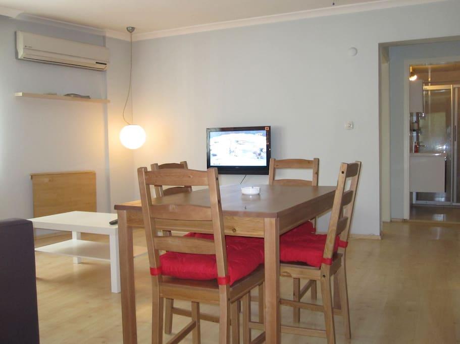 Central Located Alsancak  2 Room