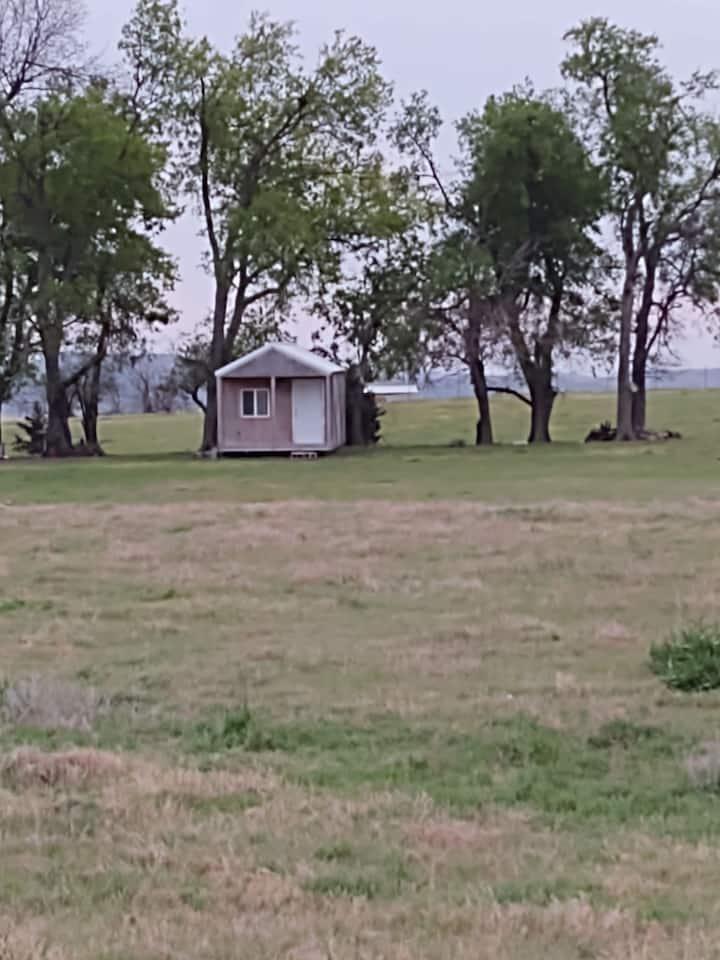 Tiny Cabin at the DonkeyRanch