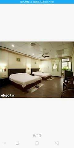 6. 家庭式四人套房 4 peoples 2 beds