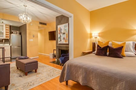 Supreme location/charming apt across from Capitol