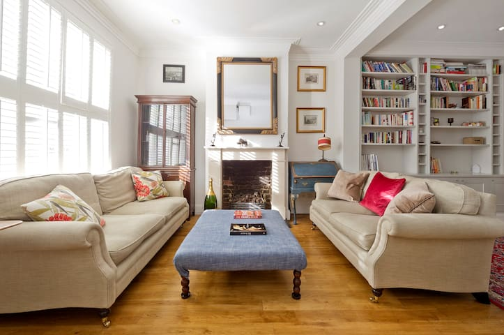 Fulham 4-Bed House & Garden, 5 Mins from Tube