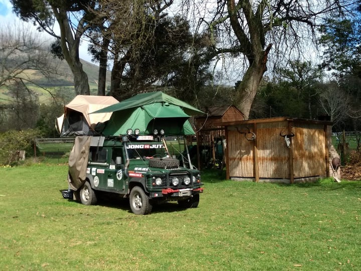 The Campsites   4x4 or Tents