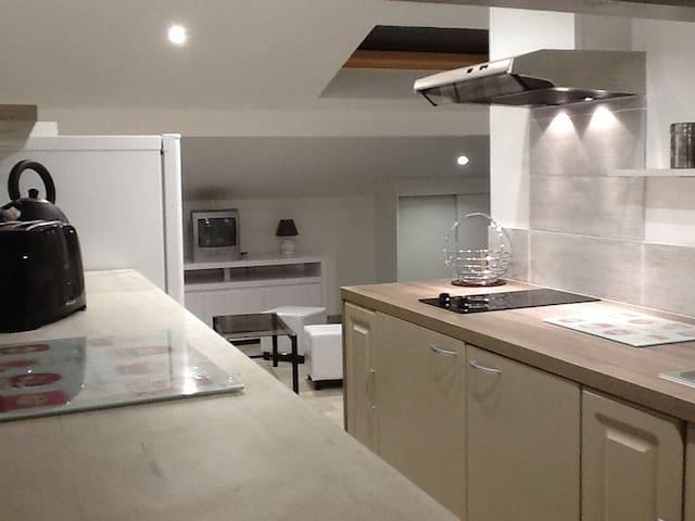 Studio neuf meublé 30m2 dans villa - Mouguerre - Villa