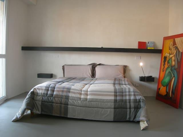 appartamento arredato con minimal design - Ospitaletto - Daire