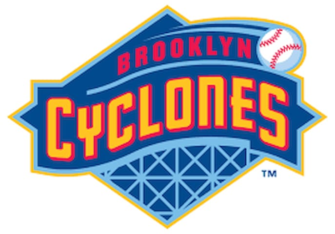 44 years after the Dodgers moved to Los Angeles, a new professional team was born in baseball's favorite borough.  The Brooklyn Cyclones are a minor league baseball team based in Brooklyn, New York that plays in the Short-Season A classification New York–Penn League, affiliated with the New York Mets. The Cyclones play at MCU Park just off the Coney Island boardwalk in the New York City borough of Brooklyn. In its franchise history, the team has won seven division titles. As the Brooklyn Cyclones, the team has won five division titles, made the playoffs eight times.