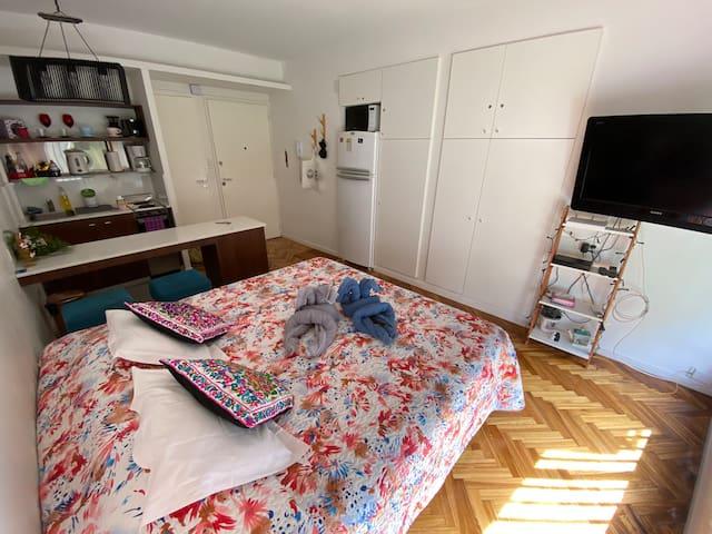 Fully equipped studio apartment in Recoleta