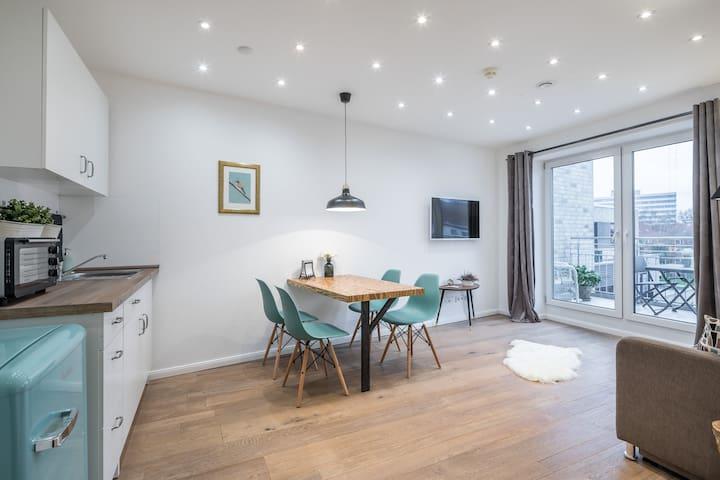 Charming Apartment – Close to Heart of Hamburg