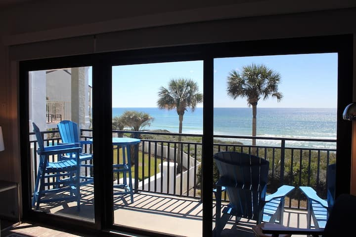 Shore to Please - Ocean front sleeps up to 6 at the Palms of Seagrove.