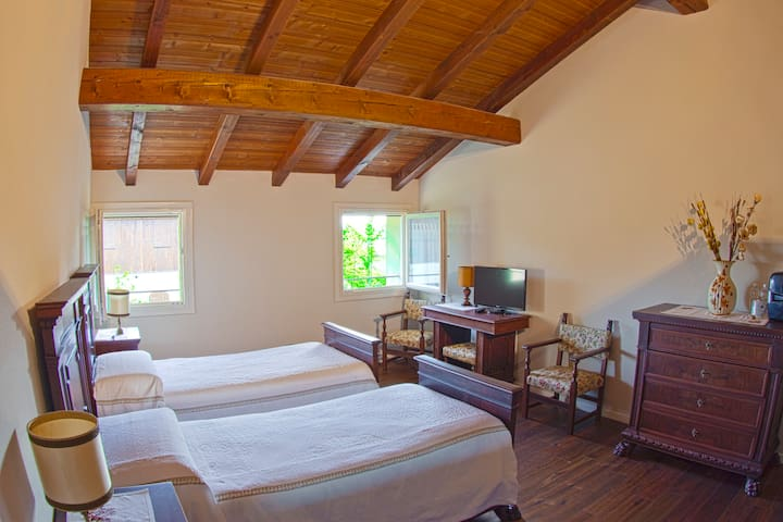 Double room with twin beds - Breakfast incl. - R&B - Calderara di Reno - Penzion (B&B)