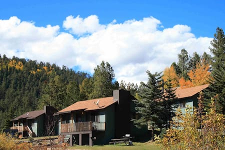Cozy 2 BR cabin with pond in the heart of Greer! - Greer - Sommerhus/hytte