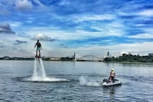 Nearby: Flyboard Malaysia (pic from Google Image)