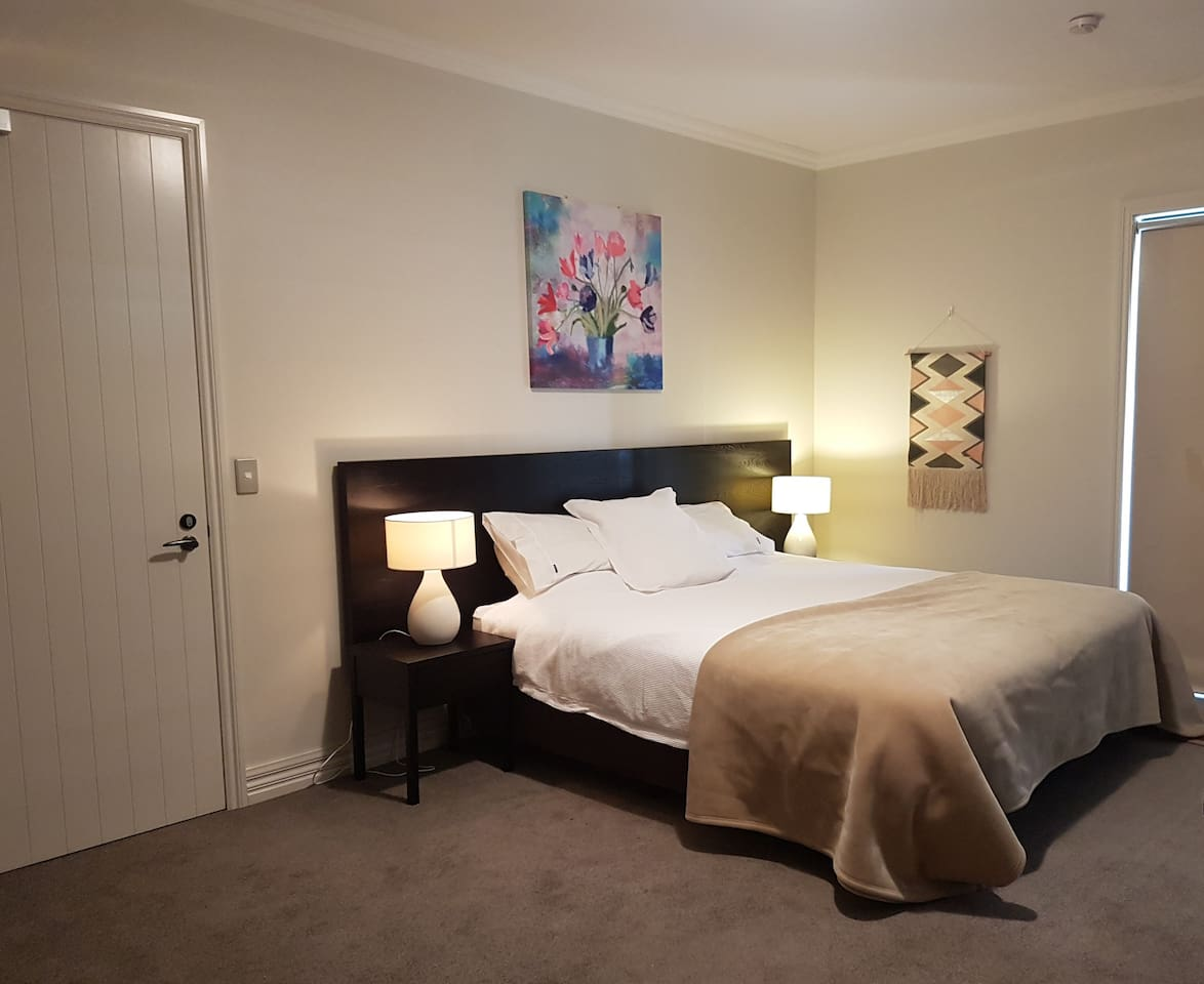 Studio Room with the ability to rent out the adjoining studio room - great for groups