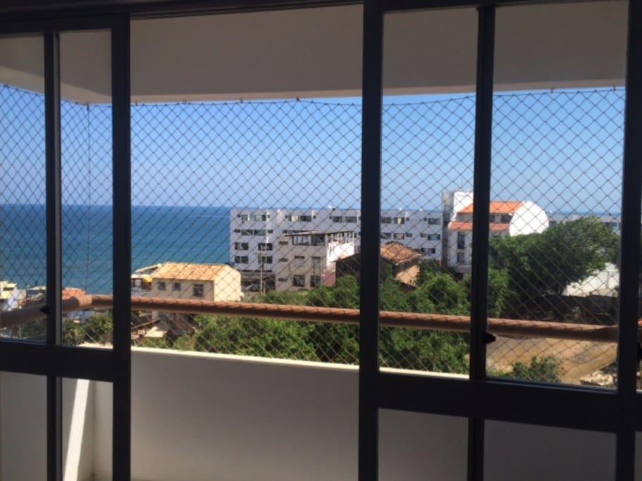 Vista da varanda / View from the balcony