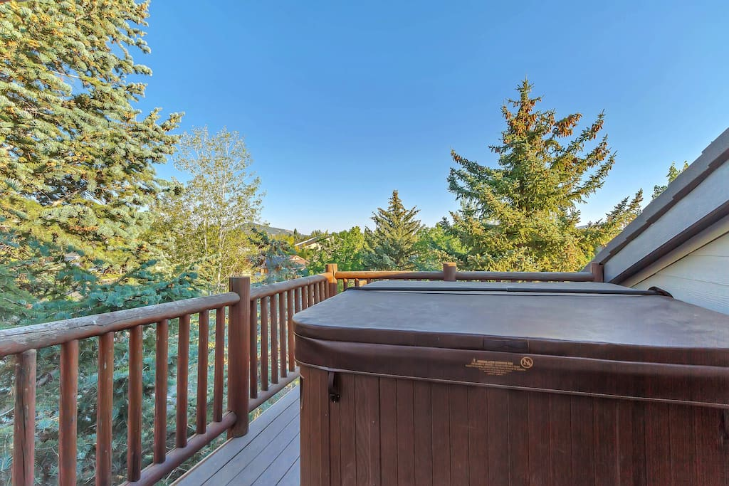 Private balcony - Private hot tub