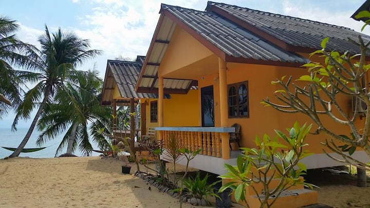 The Sand Terrace Resort - Beach Bungalow w/ Aircon