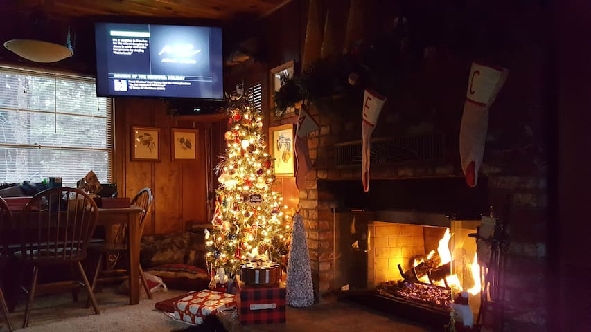 The Cozy Cabin. where you can relax & enjoy nature - Big Bear City - Rumah