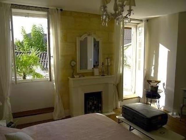Chambres d'hôtes  Gabrielle - La Réole - Townhouse