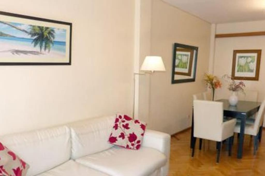 Vista general del living- room.