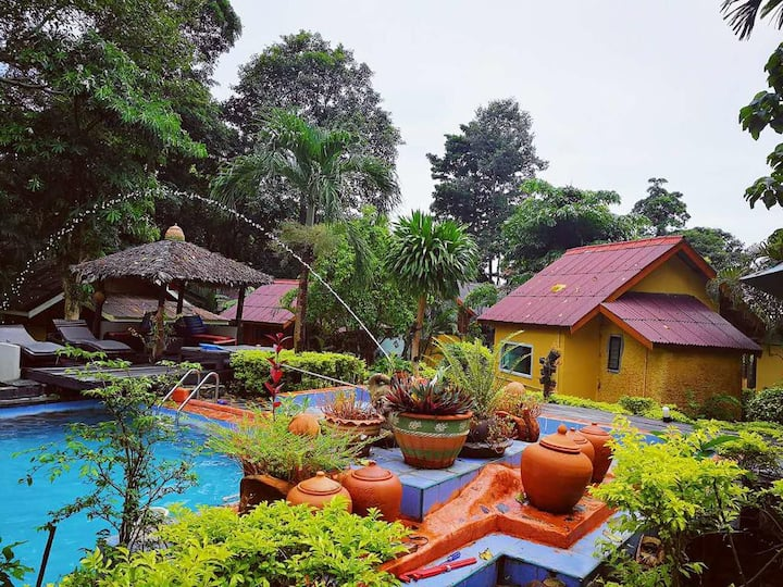 Faye Orchid Garden Resort-Pool Side Bungalow