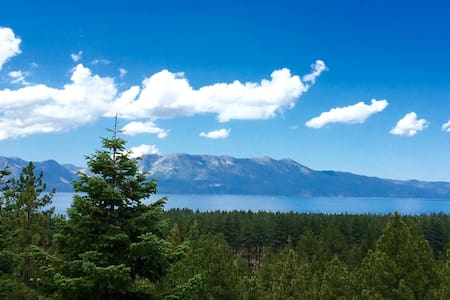 S.Lake Tahoe VIEWS & LOCATION!!! - Zephyr Cove-Round Hill Village - Ház