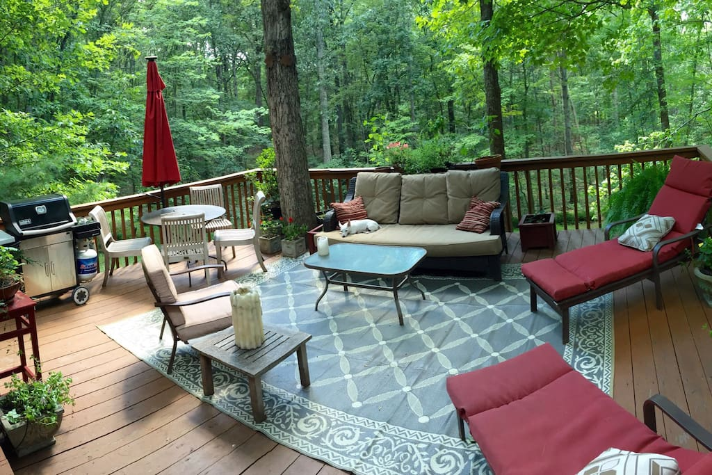Summer 2015 deck arrangement