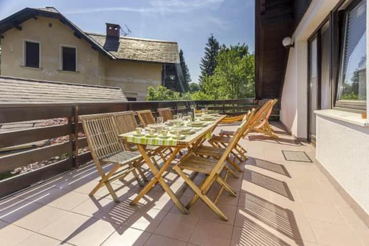 Apartment Harmony***- great location&sunny terrace