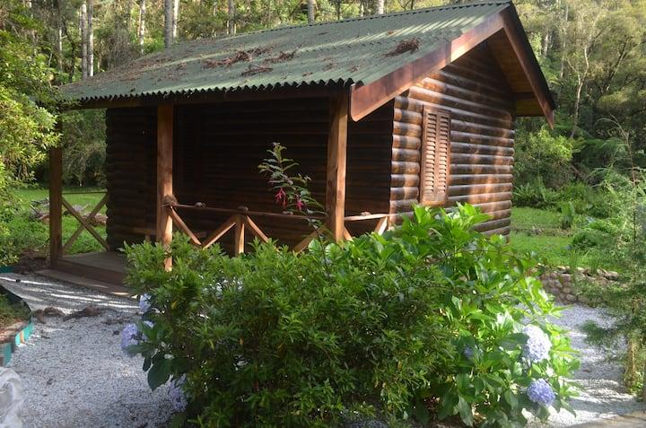 Cabana I na montanha de Campos do Jordão