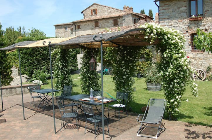 Il Riccio, Medieval Apartment - Gaiole in Chianti - Lägenhet