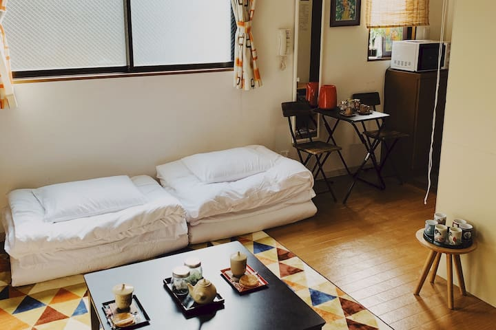 Very cleanliness,  Very relaxing room