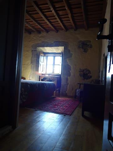 Hab 3 La Casona de Villanueva 2 camas individuales