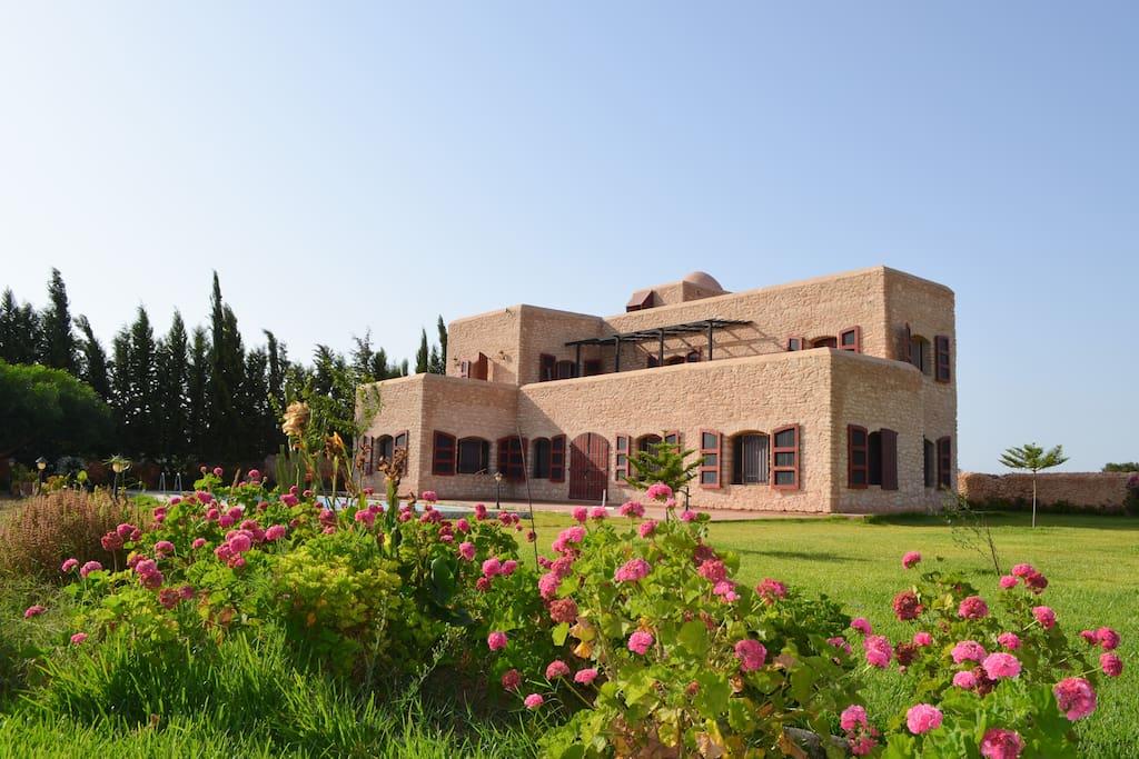 Villa priv e avec piscine dans la campagne villas - Location villa piscine essaouira ...
