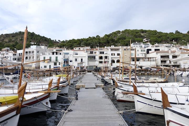 Maison traditionnelle dans le port
