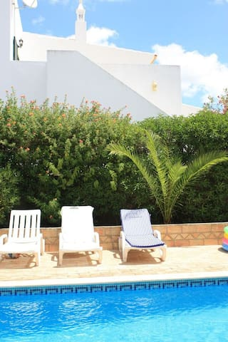 Relaxing sun loungers are waiting for you just next to the pool!