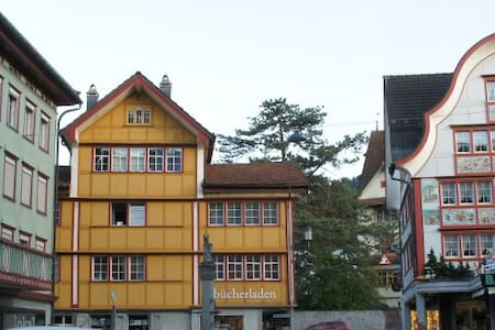 Guestrooms in the heart of Appenzel - Appenzell - Hus