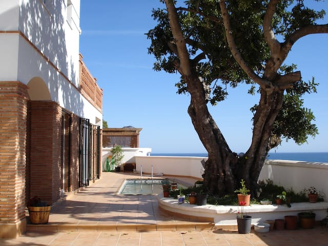 Villa with private pool parking - close to beach - Almuñécar - Huis