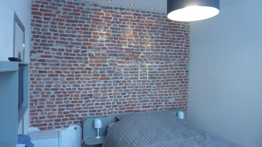 Charmante chambre indépendante - Mons - Appartement