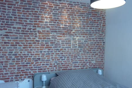 Charmante chambre indépendante - Mons - Apartamento