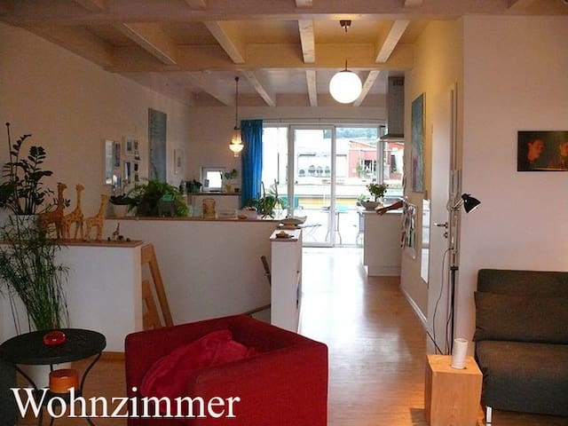 Vauban Maisonettewhg. m. Dachterrasse - Freiburg im Breisgau - Apto. en complejo residencial