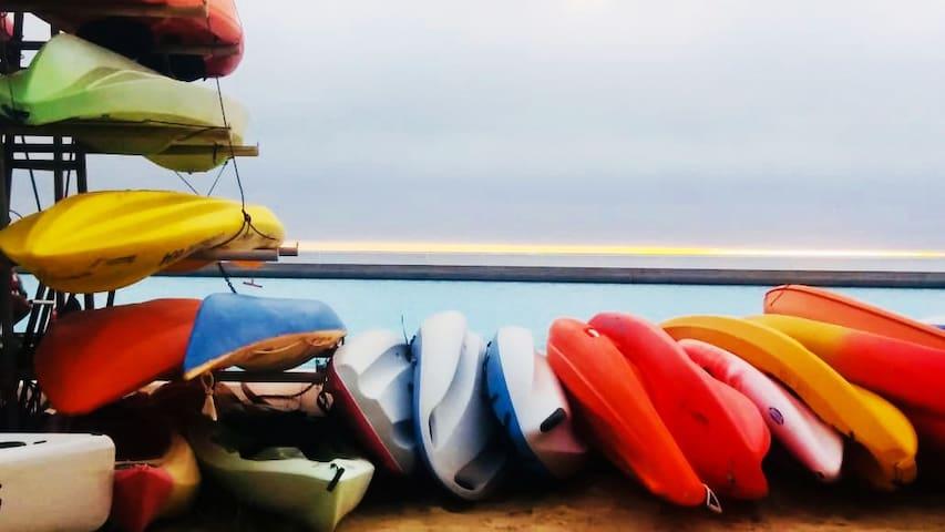 ★ San alfonso del Mar ★ Moderno, kayak incluido
