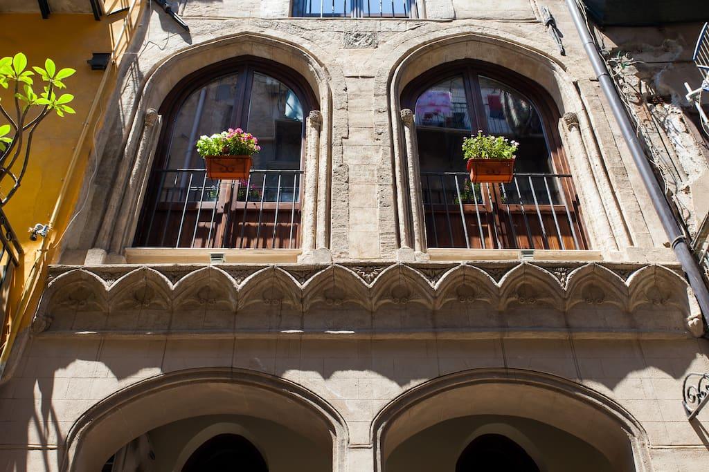 Bed vucciria maisons louer palerme sicilia italie for Reglement interieur immeuble locatif
