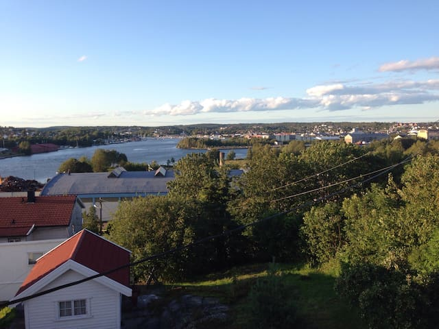 Nice little house in beautiful area - Kråkerøy, Fredrikstad - Apartment